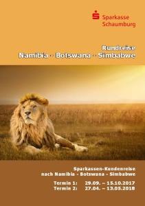 Titelbild Reiseprospekt