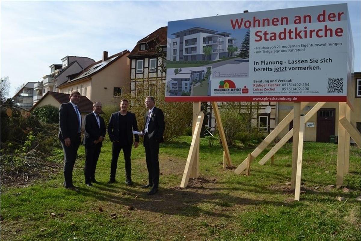 2017-04-03 Neues Bauprojekt Bückeburg